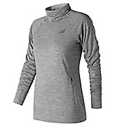 Womens New Balance NB Heat Pullover Long Sleeve Technical Tops