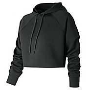 Womens New Balance Energize Crop Half-Zips & Hoodies Technical Tops