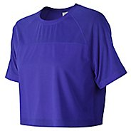 Womens New Balance Feel The Cool Tee Short Sleeve Technical Tops