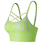 Womens New Balance Printed Feel The Cool Crop Sports Bras