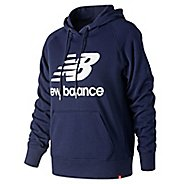Womens New Balance Essentials Pullover Half-Zips & Hoodies Technical Tops