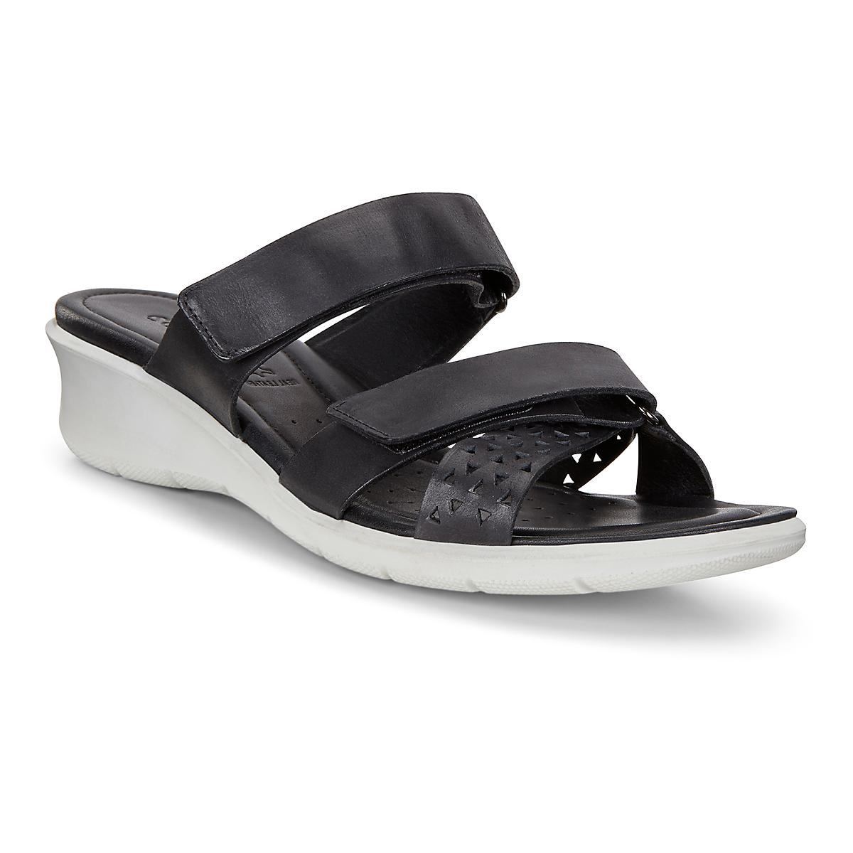 e18f46d6adca Womens Ecco Felicia Slide Sandals Shoe at Road Runner Sports