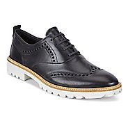Womens Ecco Incise Tailored Wing Tip Casual Shoe
