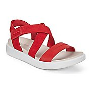 Womens Ecco Flowt Cross Strap Sandals Shoe