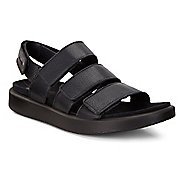 Womens Ecco Flowt 3 Strap Sandals Shoe