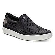 Womens Ecco Soft 7 Laser Cut Slip On Casual Shoe