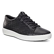 Mens Ecco Soft 7 Plaited Lace Up Casual Shoe - Moon Rock 10.5
