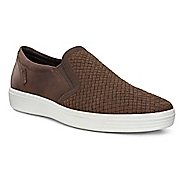 Mens Ecco Soft 7 Plaited Slip On Casual Shoe
