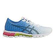 Womens ASICS GEL-Quantum 180 4 Running Shoe - White/Stone Grey 8.5