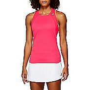 Womens ASICS Club Sleeveless & Tank Technical Tops