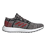 Mens adidas PureBOOST GO Running Shoe - Black/Scarlet/Orange 7.5