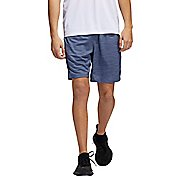 Mens Adidas 4KRFT 8-inch Striped Heather Unlined Shorts