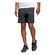Mens Adidas 4KRFT 9-inch Sport Heather 3-Stripes Unlined Shorts