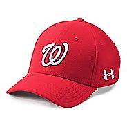4a1bd9782b4c Mens Under Armour MLB Adj Blitzing Cap Headwear. 22 colors