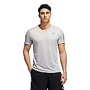Mens Adidas Own The Run Tee Short Sleeve Technical Tops