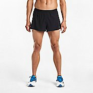 "Mens Saucony Endorphine 2"" Split Unlined Shorts"