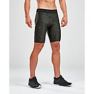 Mens 2XU Accelerate Print Compressiones Short Compression & Fitted Shorts