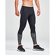 Mens 2XU Reflect Run Tights & Leggings