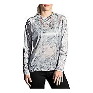 Womens Brooks LSD Pullover Long Sleeve Technical Tops