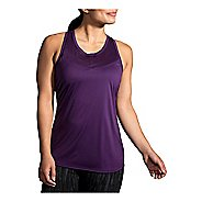 Womens Brooks Stealth Sleeveless & Tank Tops Technical Tops