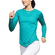Womens Under Armour Qualifier Long Sleeve Technical Tops