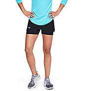Womens Under Armour Qualifier Speedpocket 2-in-1 Shorts