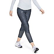 Womens Under Armour Qualifier Speedpocket Smudged Crop Tights