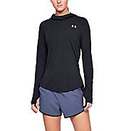 Womens Under Armour Streaker 2.0 Long Sleeve Half-Zips & Hoodies Technical Tops