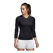 Womens Adidas Club 3/4 Sleeve Tee Long Sleeve Technical Tops
