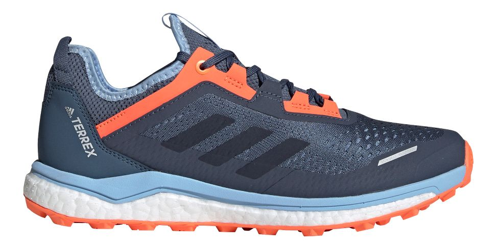 Womens adidas Terrex Agravic Flow Trail Running Shoe at Road ...