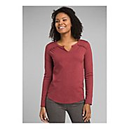 Womens Prana Nitty Top Long Sleeve Technical Tops
