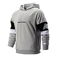 Mens New Balance Athletics Classic Half-Zips & Hoodies Technical Tops