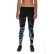 Womens CW-X Printed Endurance Generator Joint and Muscle Long Compression Tights
