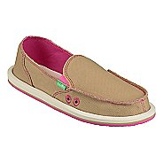 Womens Sanuk Donna Hemp Neon Casual Shoe
