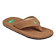 Mens Sanuk Furreal Classic Cord Sandals Shoe