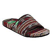 Womens Sanuk Furreal Slide Sandals Shoe