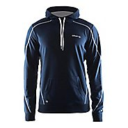 Mens Craft In The Zone Half-Zips & Hoodies Technical Tops