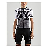 Mens Craft Route Jersey Short Sleeve Technical Tops