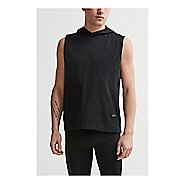 Mens Craft Deft 2.0 SL Hood Tee Short Sleeve Technical Tops