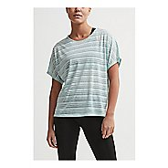 Womens Craft Charge Tee Short Sleeve Technical Tops