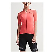 Womens Craft Hale Glow Jersey Short Sleeve Technical Tops