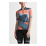 Womens Craft Hale Graphic Jersey Short Sleeve Technical Tops