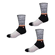 Mens New Balance Lifestyle 1847 V4 Socks 3 Pair Pack Socks