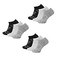 New Balance Flat Knit No Show Socks 9 Pair Pack Socks