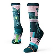 Womens Stance TRAINING Painted Lady Crew Socks