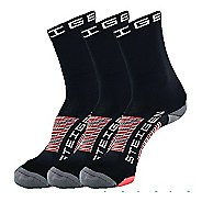 Steigen The Long Black Pack Socks