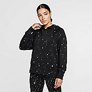 Womens Nike Dri-Fit Starry Night Fleece Half-Zips & Hoodies Technical Tops