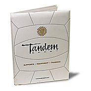 Tandem Sport Coaches Volleyball Portfolio Fitness Equipment