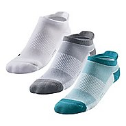 Womens R-Gear Super Femme Thin Cushion No Show Tab Socks 3 pack