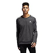 Mens Adidas Own The Run Crew Long Sleeve Technical Tops